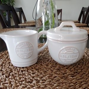 Other - Brand New Sugar Bowl and creamer set